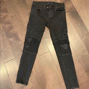 Zara Men Skinny Fit Jeans Size 32 waist 29 length
